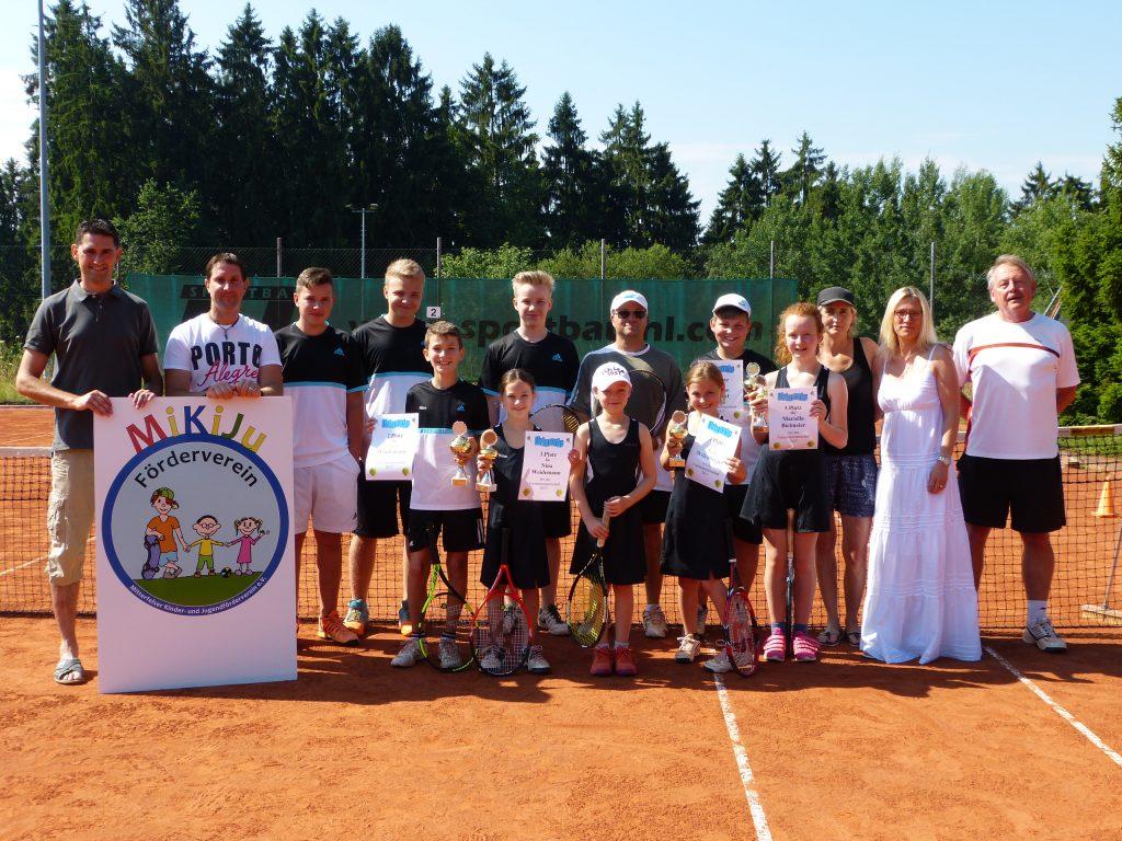 Spende an Tennis Jugend – Mitterfelser Kinder- und ...
